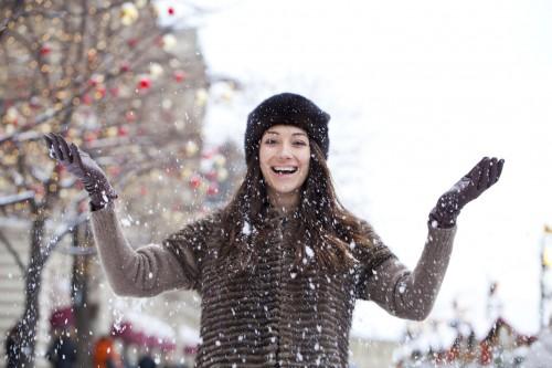 視覚効果バツグンっ!「雪の日にあえて屋外デート」モテテク4つ