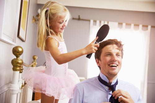 あらま…ママびっくり!子どもができると「パパも太る」研究で判明